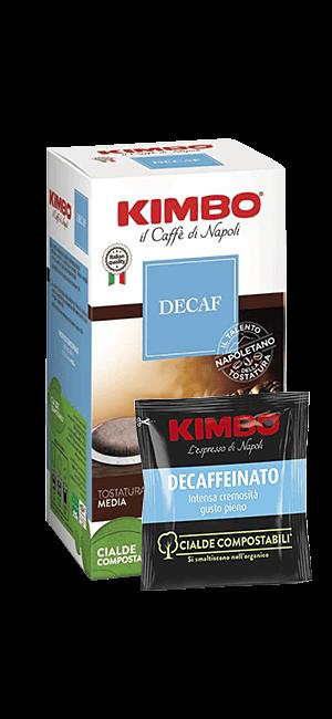 Kimbo Decaffeinato E.S.E. Pads 50 Stück
