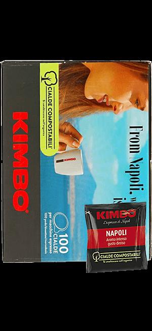 Kimbo Napoletano Pads 100 Stück