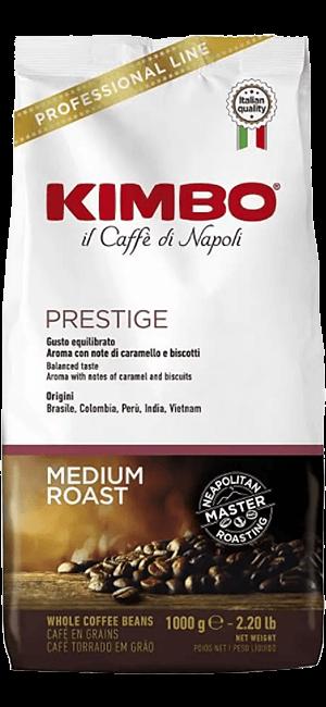 Kimbo Prestige 1kg Bohnen