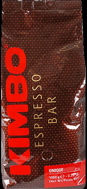 Kimbo Unique 1kg Bohnen