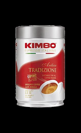 Kimbo Caffe Antica Tradizione gemahlen 250g