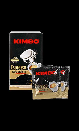 Kimbo 100% Kaffee Arabica 18 Pads