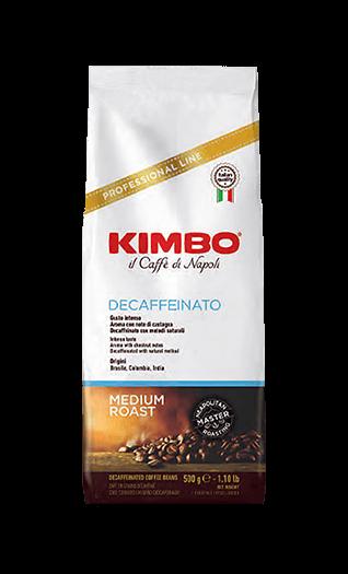 Kimbo Kaffee Espresso Decaffeinato Bohnen 500g