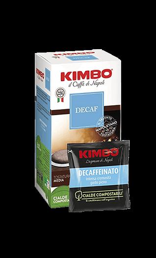 Kimbo Kaffee Espresso Decaffeinato Pads 50 Stück