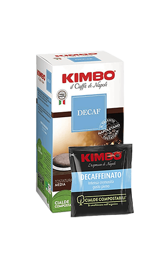 Kimbo Kaffee Decaffeinato 50 Pads