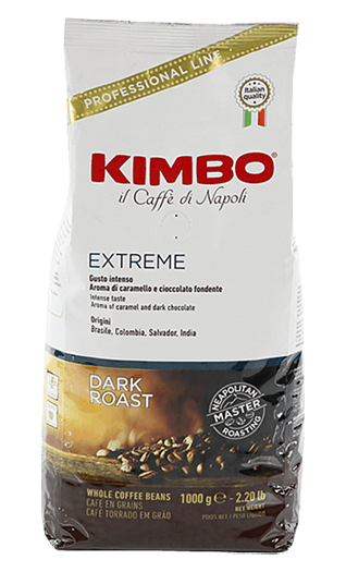 Kimbo Kaffee Extreme Bohnen 1kg