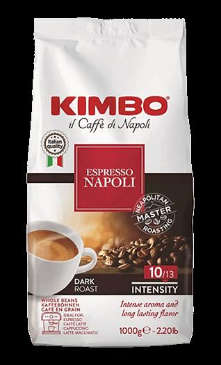 Kimbo Kaffee Espresso Napoletano Bohnen 1kg