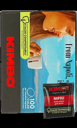Kimbo Kaffee Espresso Napoletano Pads 100 Stück