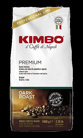 Kimbo Kaffee Premium Bohnen 1kg