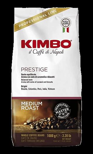 Kimbo Kaffee Espresso Prestige Bohnen 1kg