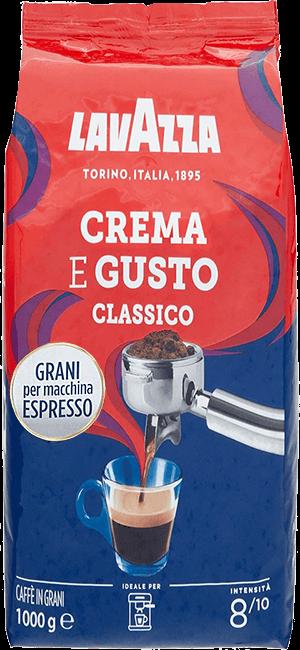 Lavazza Crema e Gusto 1kg Bohnen