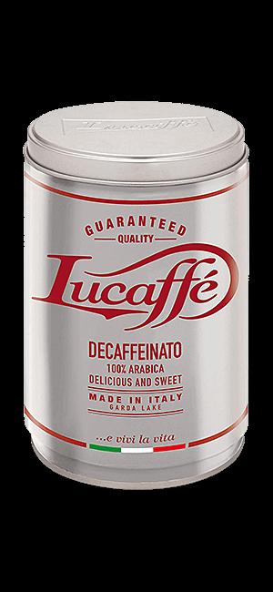 Lucaffe Decaffeinato gemahlen 250g Dose