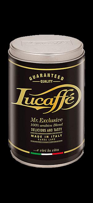 Lucaffe Mr. Exclusive 100% Arabica 250g gemahlen Dose