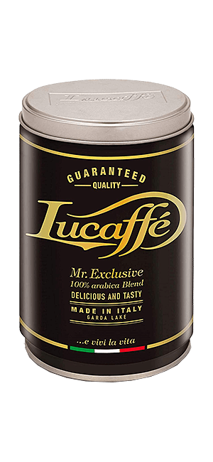 Lucaffe Mr. Exclusive 100% Arabica Bohnen 250g Dose