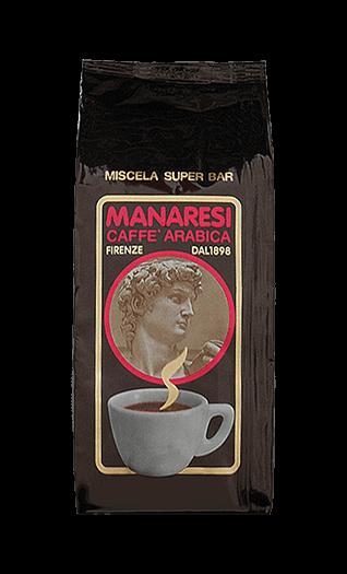 Manaresi Caffe Super Bar 250g Bohnen