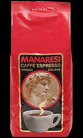 Manaresi Caffe Rosso 1000g Bohnen
