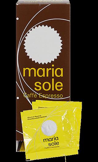 MariaSole Espresso Caffe Espresso gemahlen Pads 150 Stück