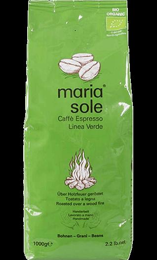 MariaSole Kaffee Espresso LineaVerde BIO Bohnen 1kg