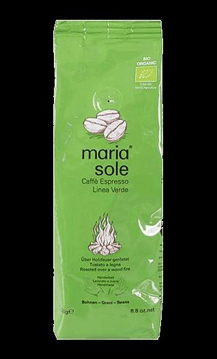 MariaSole Kaffee Espresso LineaVerde BIO Bohnen 250g