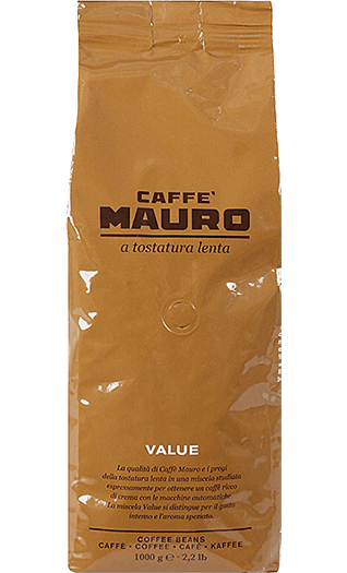 Mauro Caffe Value  1000g Bohnen