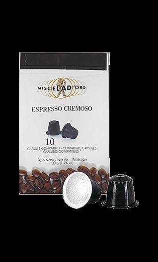 Miscela d'Oro Kaffee Cremoso Kapseln 10 Stück