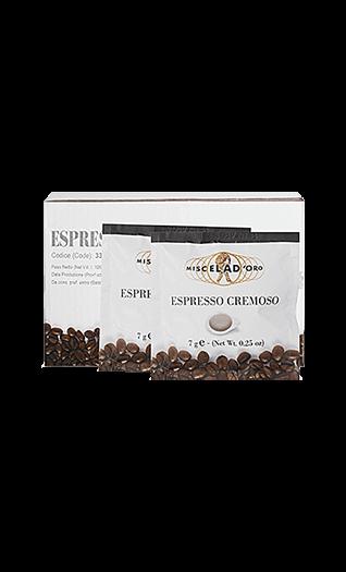 Miscela d'Oro Kaffee Cremoso Pads 150 Stück
