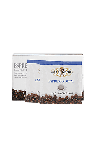 Miscela d'Oro Espresso Decaffeinato Pads 150 Stück