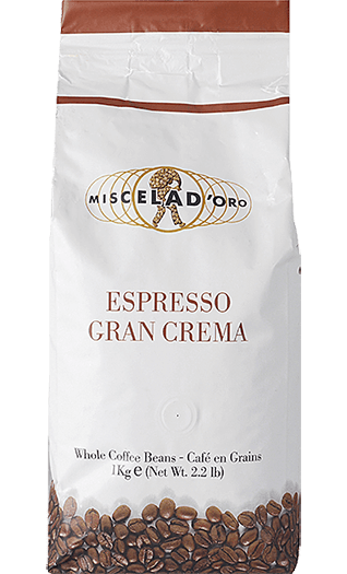 Miscela d'Oro Kaffee Gran Crema Bohnen 1kg