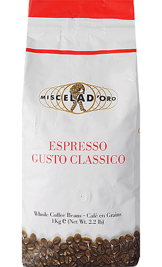 Miscela d'Oro Caffe Gusto Classico Bohnen 1kg