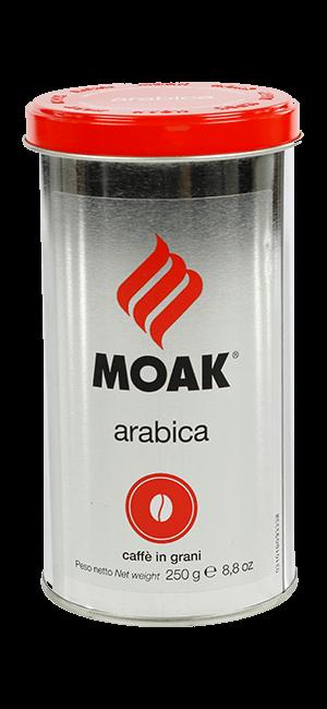 Moak Arabica 250g Bohnen Dose