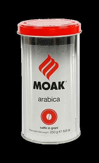 Moak Kaffee Arabica Bohnen 250g Dose