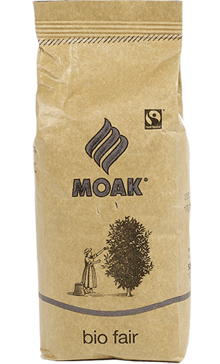 Moak Kaffee Espresso Bio Fair Bohnen 500g