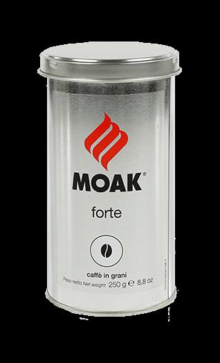 Moak Kaffee Espresso Forte Bohnen 250g Dose