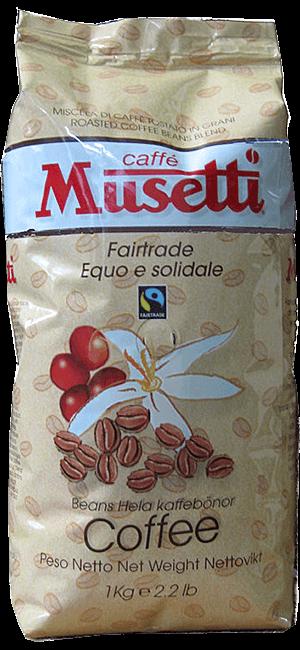 Musetti Fair Trade 1kg Bohnen