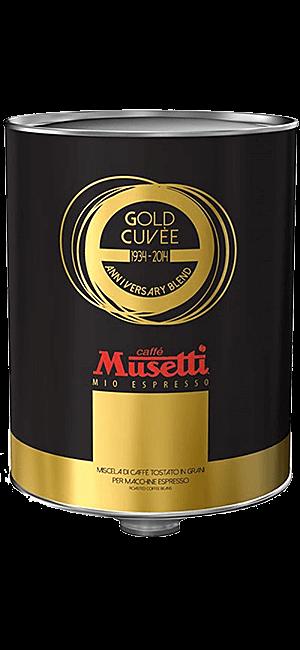 Musetti Gold Cuvee 2kg Bohnen