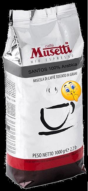 Musetti Santos 1kg Bohnen
