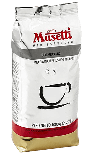 Musetti Caffe Cremissimo Bohnen 1kg