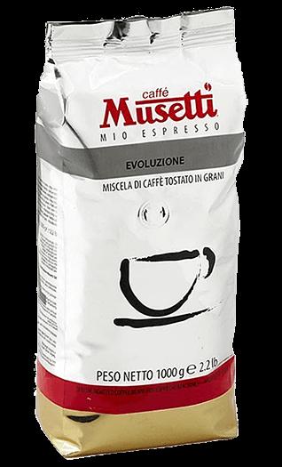 Musetti Kaffee Espresso Evoluzione 1000g Bohnen