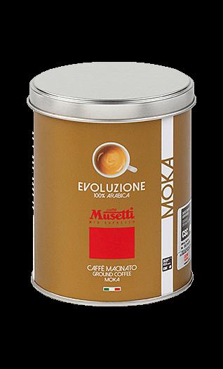 Musetti Kaffee Evoluzione gemahlen 250g Dose