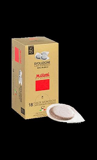 Musetti Espresso Evoluzione Pads 18 Stück