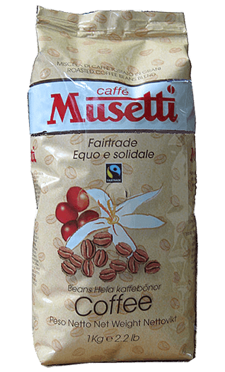 Musetti Caffe Fair Trade 1000g Bohnen