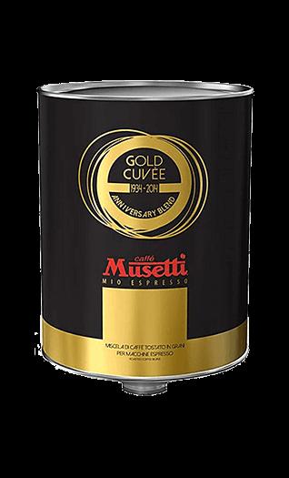 Musetti Kaffee Gold Cuvee Bohnen 2kg