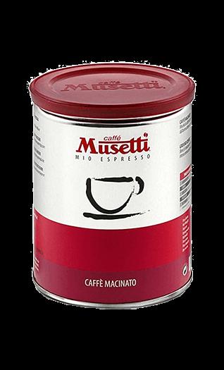 Musetti Kaffee Espresso Miscela Rossa 250g Bohnen Dose