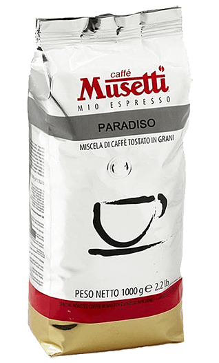 Musetti Caffe Paradiso 1000g Bohnen