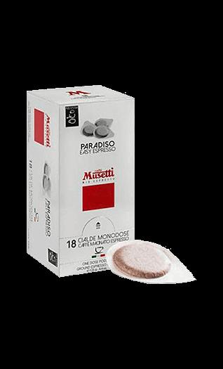 Musetti Kaffee Espresso Paradiso Pads 18 Stück