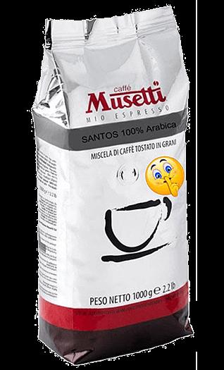 Musetti Caffe Santos Bohnen 1kg