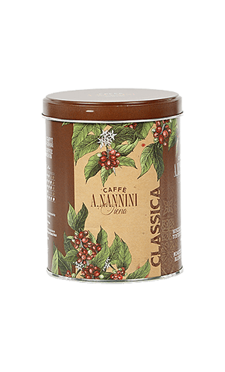 Nannini Kaffee Espresso Classica gemahlen 250g Dose