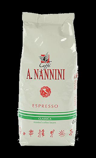 Nannini Kaffee Classica Bohnen 500g