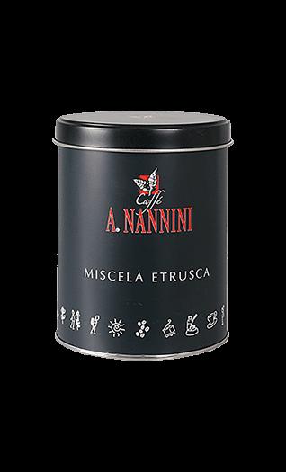 Nannini Kaffee Etrusca gemahlen 250g Dose