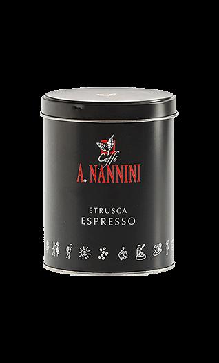 Nannini Caffe Etrusca 250g Bohnen Dose